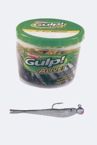 What Is The Best Crappie Bait? Gulp Alive Minnows at Bass Pro Shops