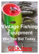 vintage fishing equipment